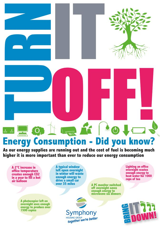 Turn it off energy consumption facts advice for Energy efficiency facts