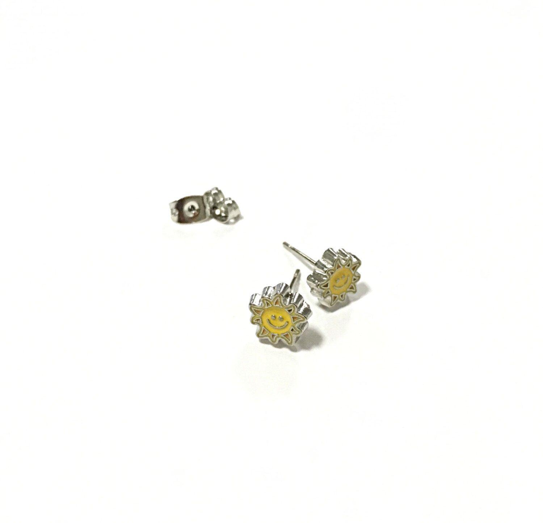 A personal favorite from my Etsy shop https://www.etsy.com/listing/472480201/sun-earrings-sunshine-earrings-happy