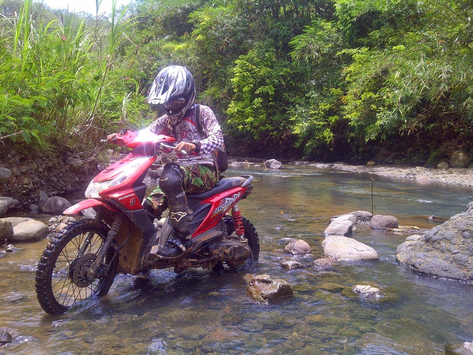 Download Koleksi Modifikasi Motor Trail Di Bali Terkeren Velgy Motor