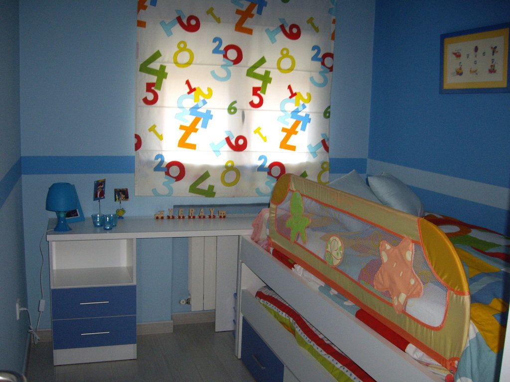 Ideas para decorar el cuarto de mi hijo de 7 a os buscar for Cuartos para nina de 3 anos