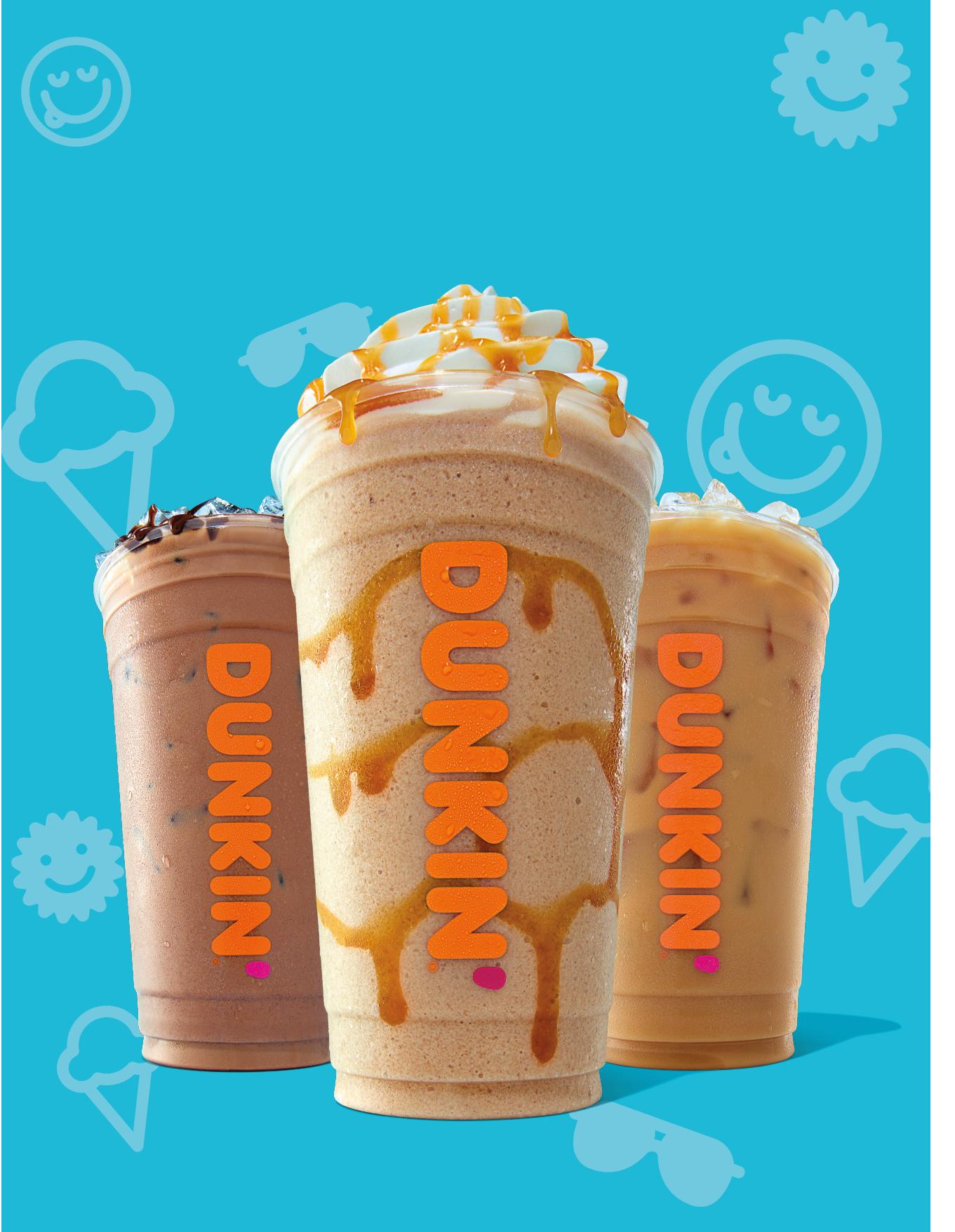 Dunkin Donuts Coffee Flavors Summer 2019 in 2020 Dunkin