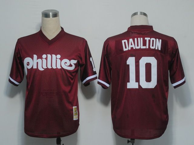 012fac310 ... shop wholesale mlb throwback jerseys philadelphia phillies 10 darren  daulton 1991 red mesh batting practice jersey