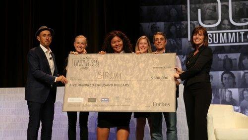 Million-Dollar Ideas: SIRUM Wins Big At FORBES Under 30 Summit