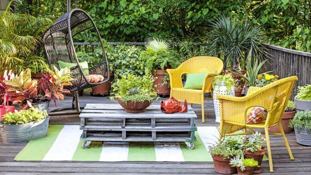73 Small Garden Ideas For Your Outdoor Space | Backyard decor
