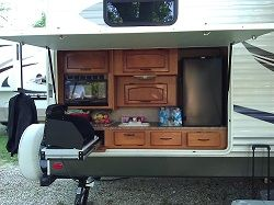 camper with outdoor kitchen looks like i can make this work get rh pinterest com camper with outdoor kitchen craigslist camper with outdoor kitchen craigslist