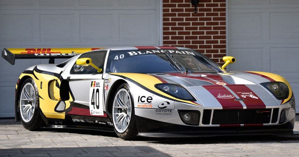 Ford Gt Matech Gt1 Racer On Ebay Is One Out Of Four Ever Built Ford Gt Race Cars Car