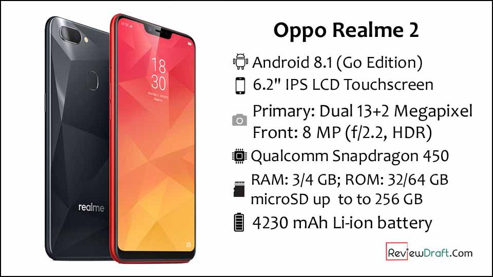 Oppo Realme 2 Price in Bangladesh, Full Specification | Oppo