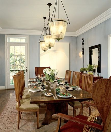 Elegant Tableware For Dining Rooms With Style: Dining Room In Architectural Digest