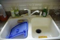 How To Clean A Fiberglass Sink Hunker Kitchen Sink Diy Acrylic Sinks Porcelain Kitchen Sink