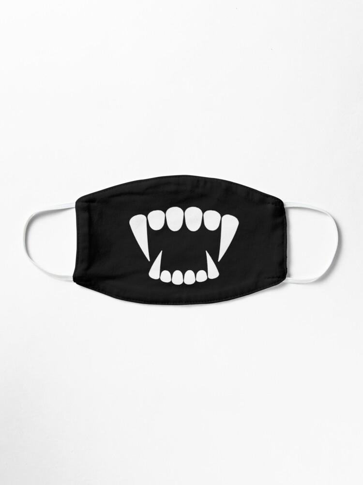 Teeth Vampire Halloween Mask By Omarts14 Halloween Masks Halloween Face Mask Fashion Face Mask