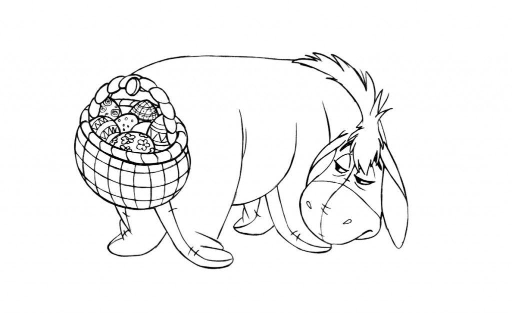 Free Printable Eeyore Coloring Pages For Kids | Eeyore, Easter ...