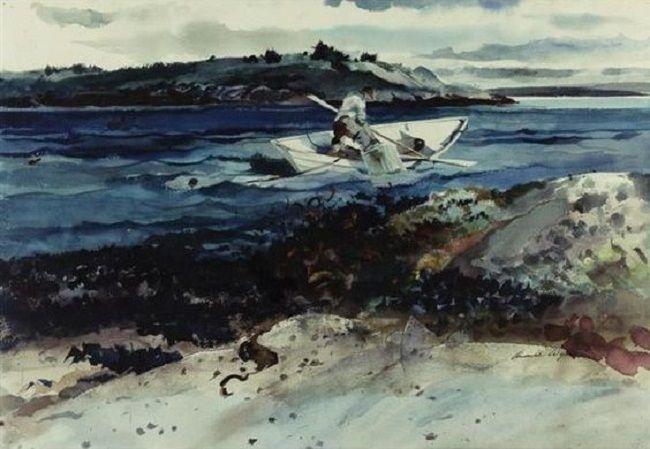 Andrew Wyeth - Island Fisherman