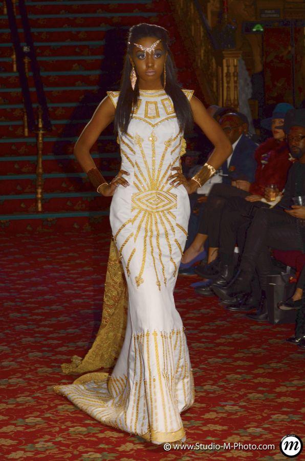 davidbowieandimandaughteralexandria Imani modelling queen