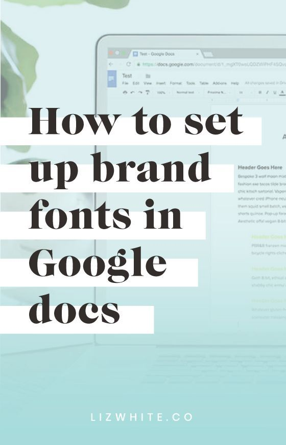 Did You Know That You Can Customize Your Google Docs With Your Brand - Google docs create own templates
