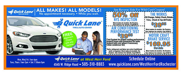 Save On Your Car Service With These Coupons From Quick Lane Tire And Auto Center At West Herr Ford Hybrid Car Coupons Oil Change