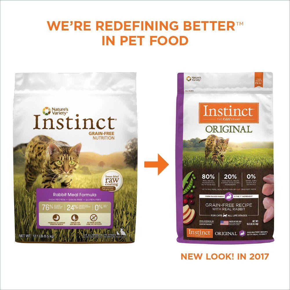 Instinct Original Grain Free Recipe with Real Rabbit