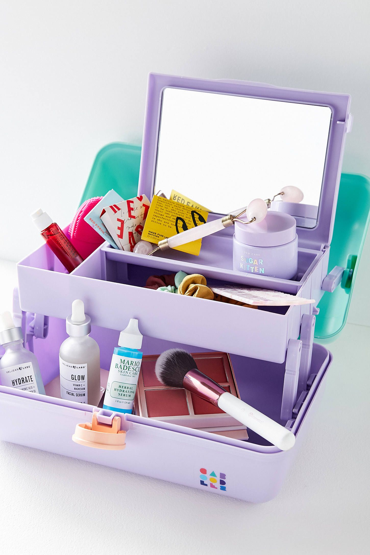 Caboodles On The Go Girl Makeup Case Caboodles Makeup Cases Makeup Case Makeup Carrying Case