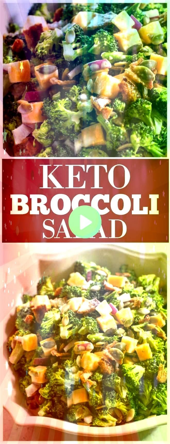 Salad  who says you cant have your favorite potluck side dish when on the Keto dietKeto Broccoli Salad  who says you cant have your favorite potluck side dish when on the...