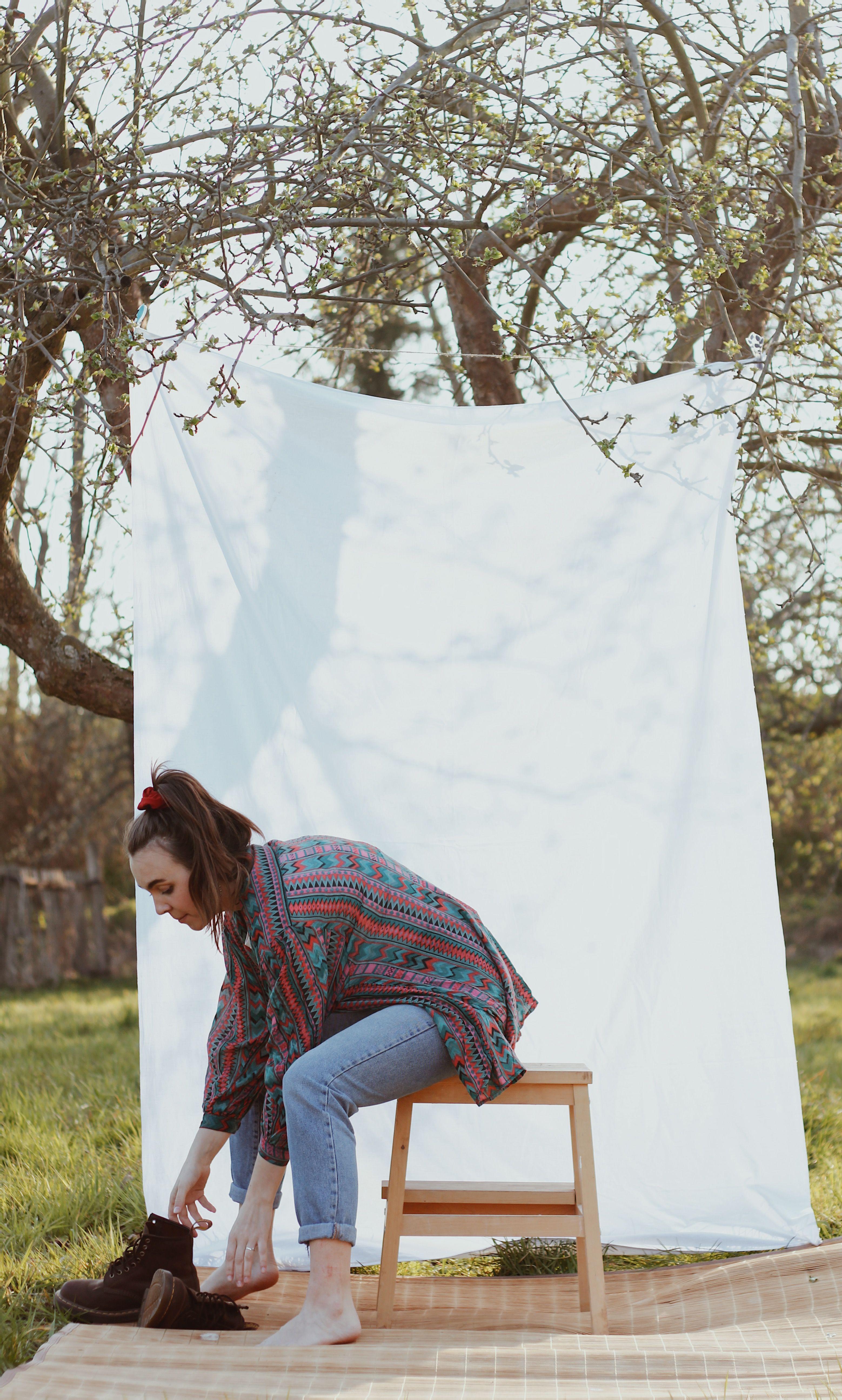 #photography #photooftheday #female #apple #docmartens #fashion #sunlight #garden