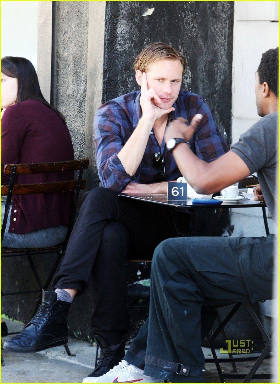 Alex has Lunch in Hollywood. - alexander-skarsgard Photo