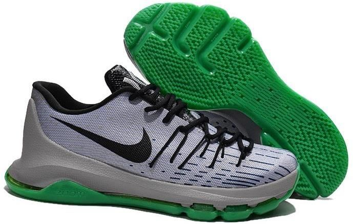 new concept bf450 1ab7e ... canada nike kd 8 grey green black shoes 09934 ece5d
