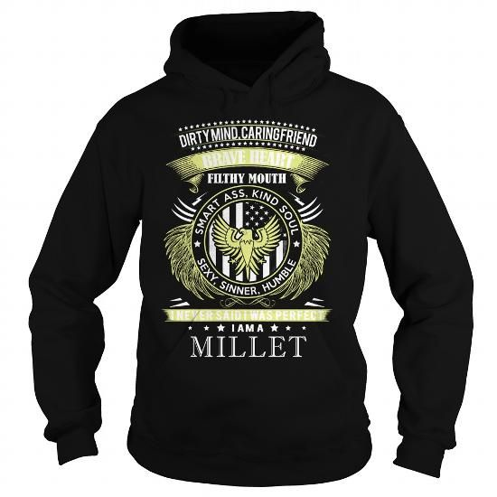 I Love MILLET MILLETBIRTHDAY MILLETYEAR MILLETHOODIE MILLETNAME MILLETHOODIES  TSHIRT FOR YOU T shirts