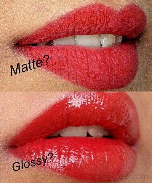 Matte Vs Glossy Red Lipsticks Perfect Red Lips Red Lipstick