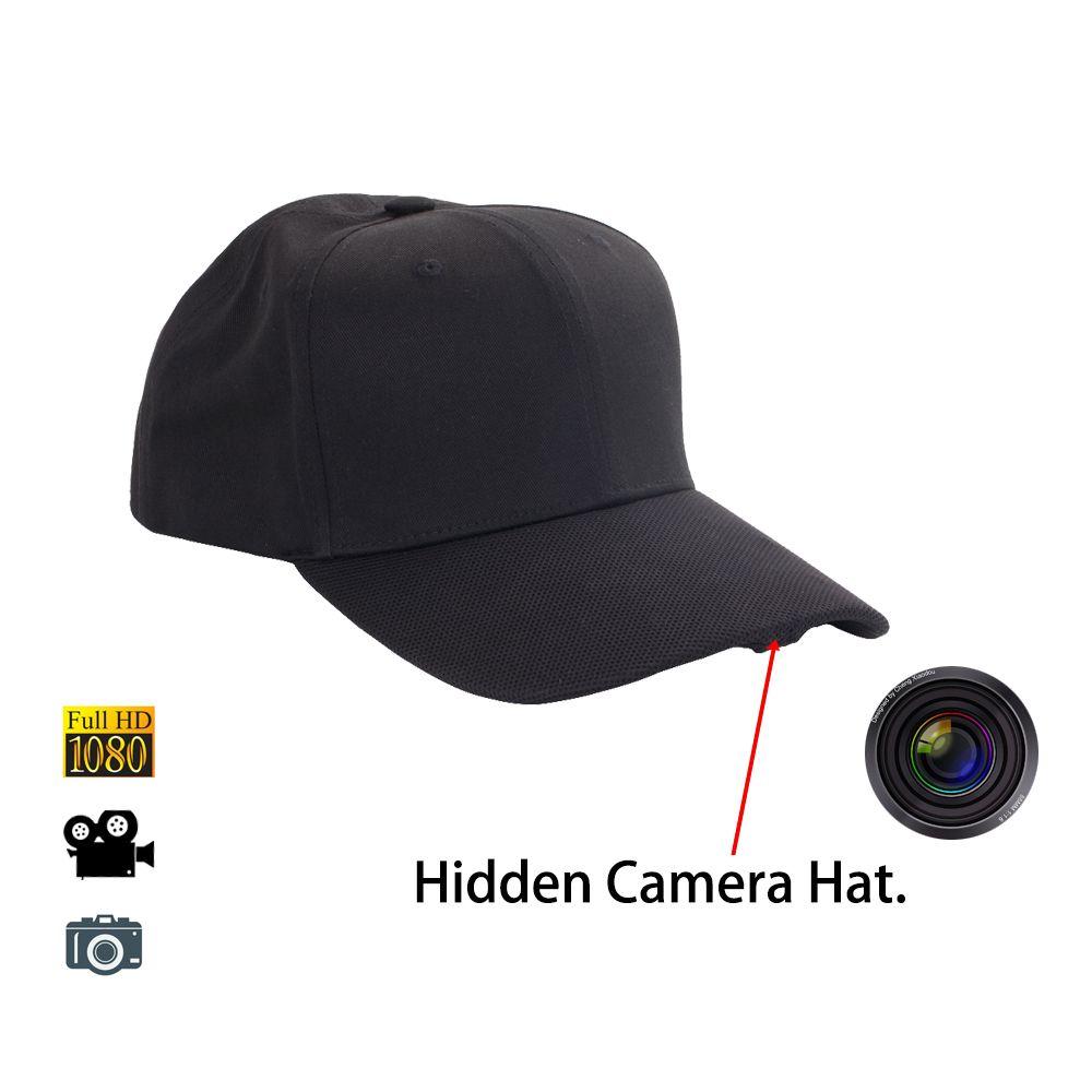 1080p 30fps Video Recorder Cap Baseball Hat Take Photos Record Activities Traveling Sporting Baseball Hats Hats Spy Glasses