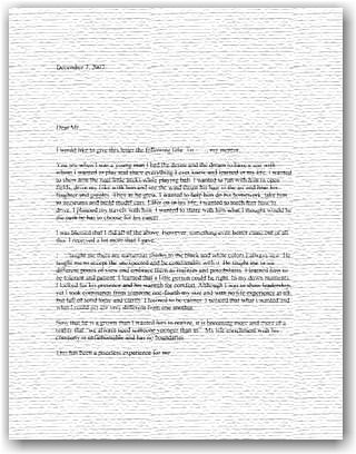 Sample Letter Of Recommendation For Boyscout