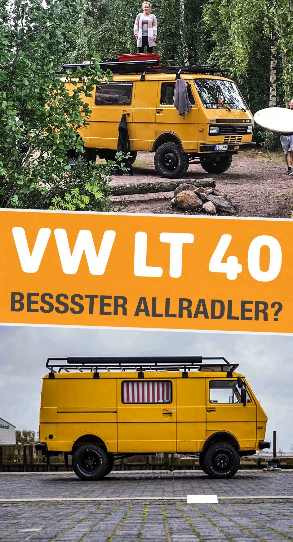 Vw Lt 40 Kein Allradfahrzeug Aber Viel Bodenfreiheit Vw Lt Vw Lt 4x4 Vw Lt 35