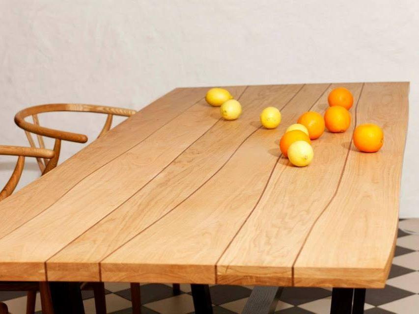 plateau pour table en bois live edge by boleform salon salle manger pinterest restaurant. Black Bedroom Furniture Sets. Home Design Ideas