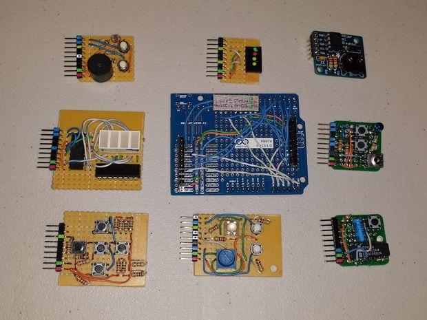 Arduino mini shields