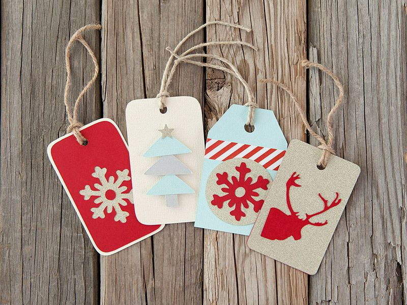 Attractive Cricut Christmas Craft Ideas Part - 11: Cricut Christmas Gift Tag Tutorial