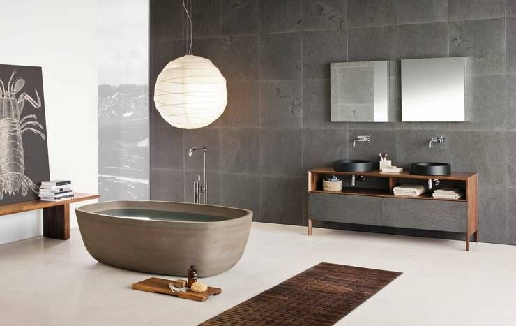 10 faszinierende b der mit wow effekt moderne badezimmer badezimmer und designs. Black Bedroom Furniture Sets. Home Design Ideas
