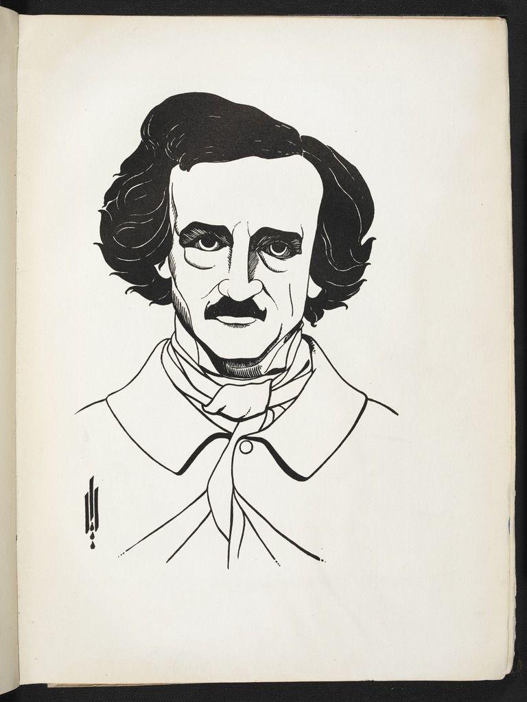 Aubrey Vincent Beardsley - Illustrations to Edgar Allan Poe