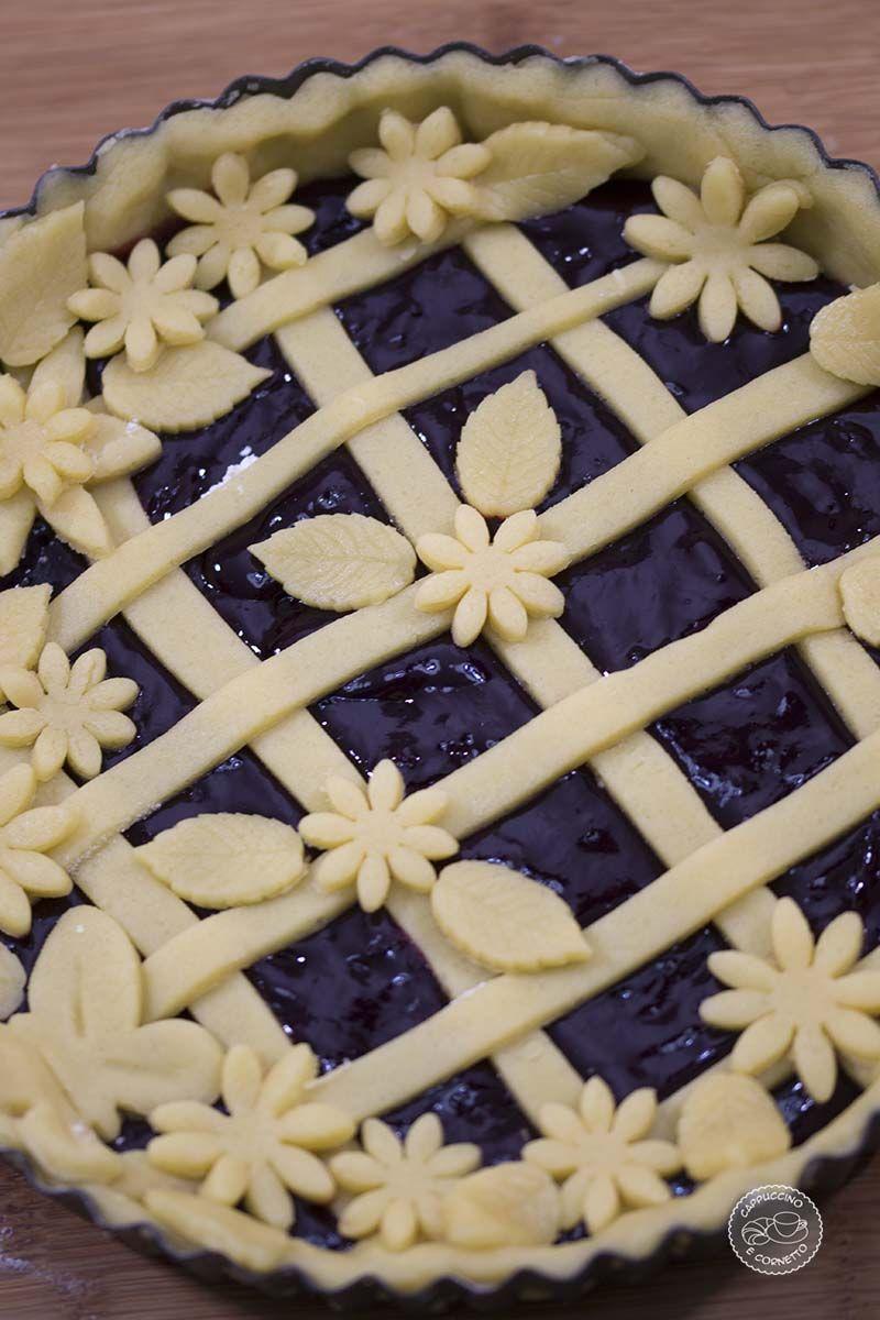 Ricetta Pasta Frolla Video.Video Ricetta Crostata Con Frolla Sabbiata Cappuccino Cornetto Ricette Crostata Ricette Dolci