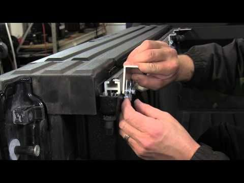 Installation Of The Bak Bakflip F1 Hard Tonneau Cover On A
