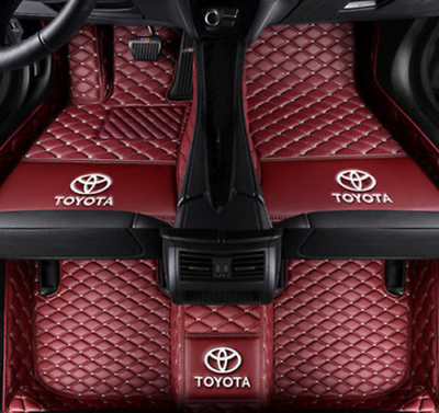 Fit Toyota Camry 2008 2018set Of 4 Front Rear Carpet Floor Mats Are Custom Fitted To Vehicle Floor Pattern No Slip Nibb Toyota Camry Camry Waterproof Car