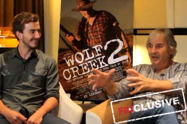 I chatted to Wolf Creek 2 stars John Jarratt and Ryan Corr!