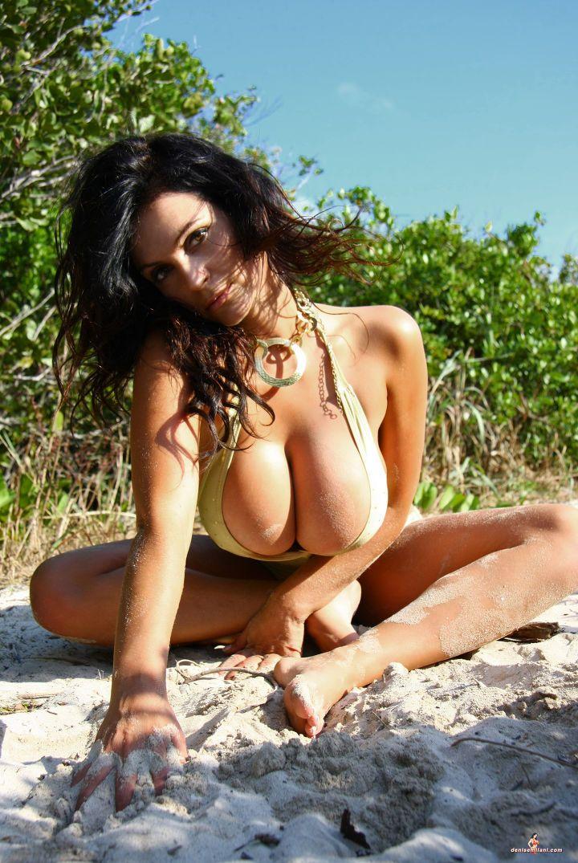Denise milani nude in