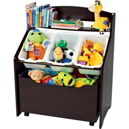 Tot Tutors 3-Tier Storage Unit with Rollout Toy Box  sc 1 st  Pinterest & Tot Tutors 3-Tier Storage Unit with Rollout Toy Box | Little West ...