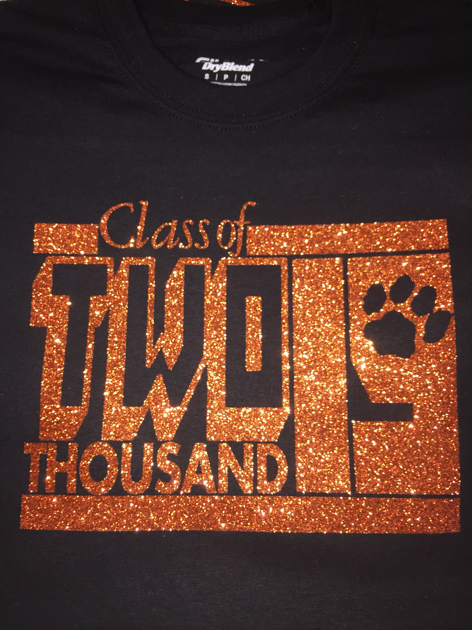 401c3c9f73915 Class of 2019 sparkle glitter shirt | fix up | Graduation shirts ...