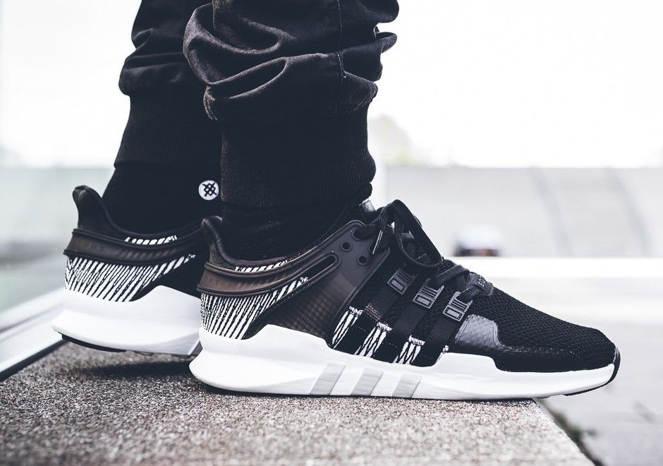 b13e0112474b adidas EQT Support ADV Black Stripes