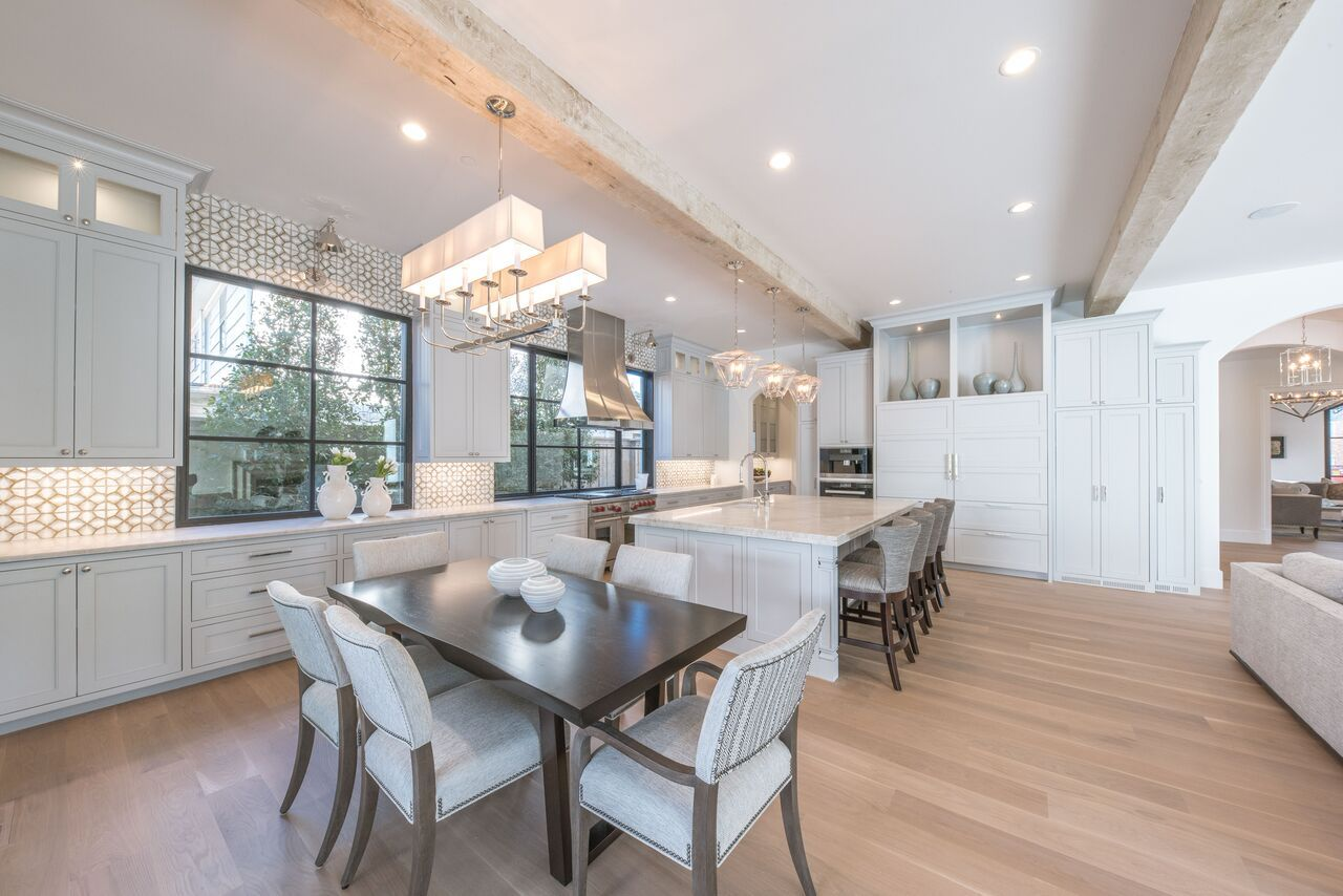 Danes Custom Homes built a gorgeous Santa Barbara Mediterranean in the  heart of Highland Park designed