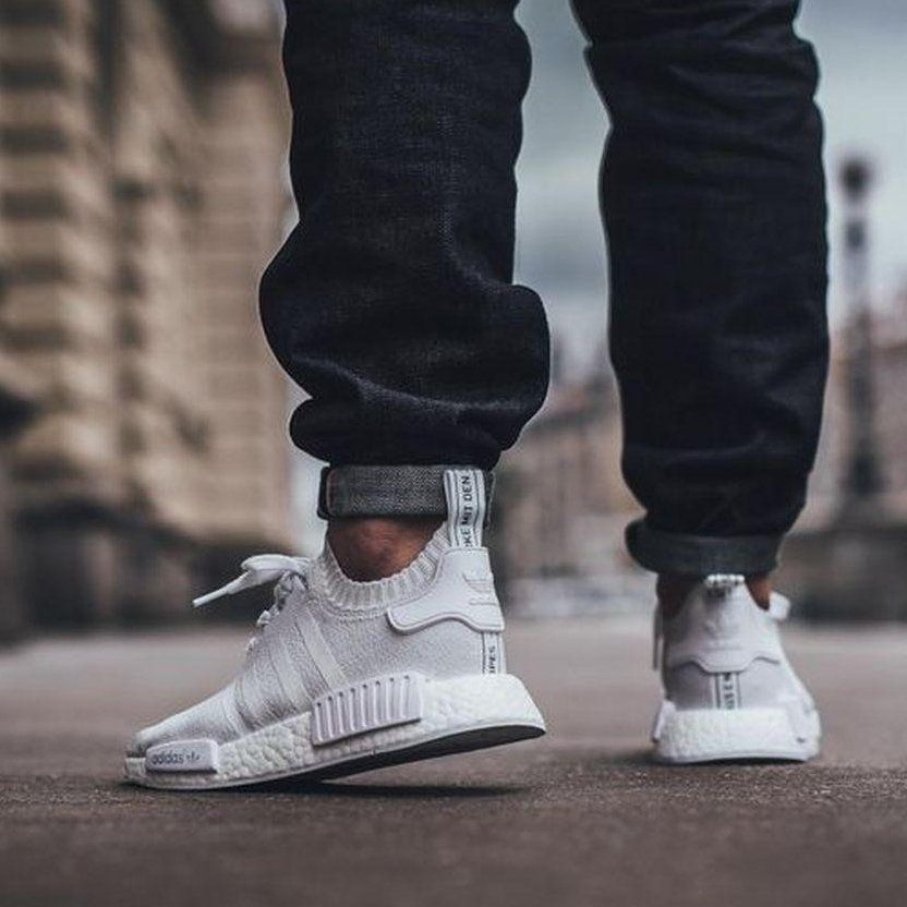 Fancy | Adidas NMD R1 PK Triple White