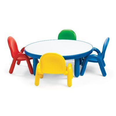 Angeles Baseline 36 Circular Activity Table Toddler Table