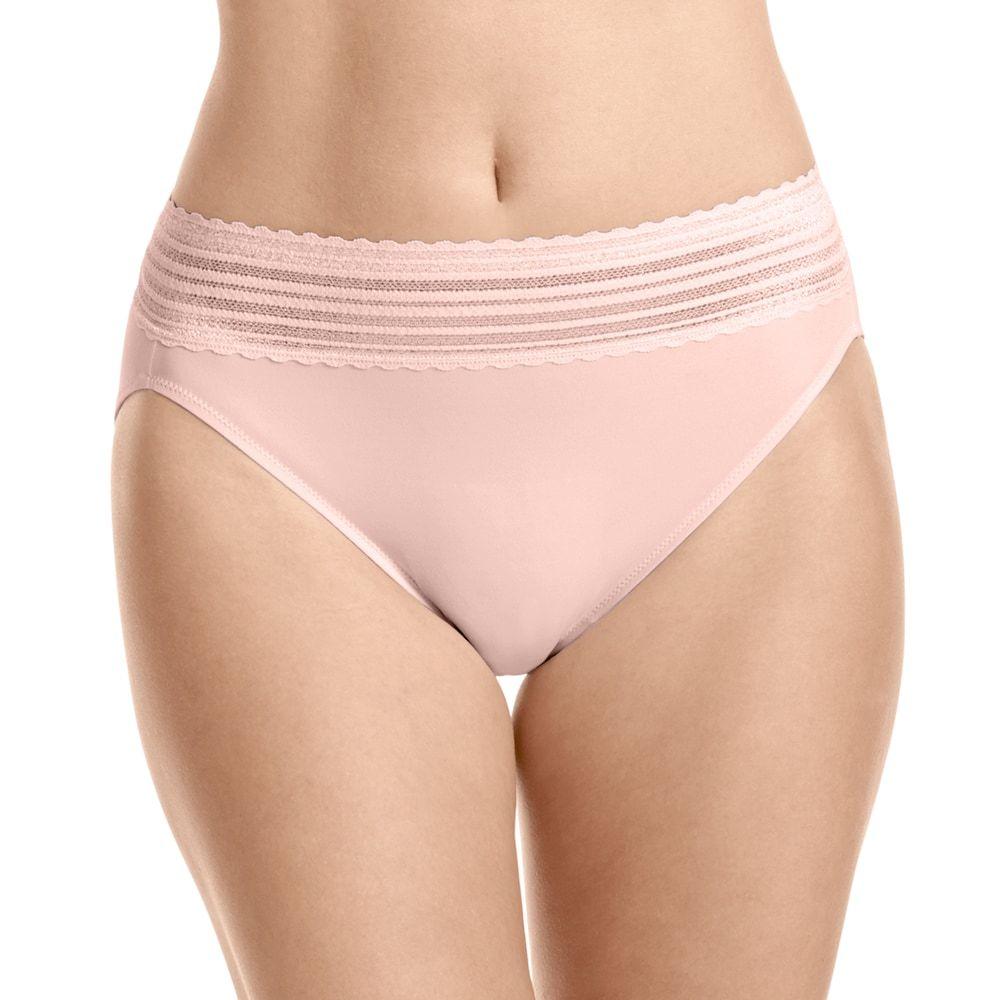 3eb2e25174e Warner's No Pinching. No Problems. Lace Hi-Cut Panty 5109J - Women's, Size:  XXL, Oxford