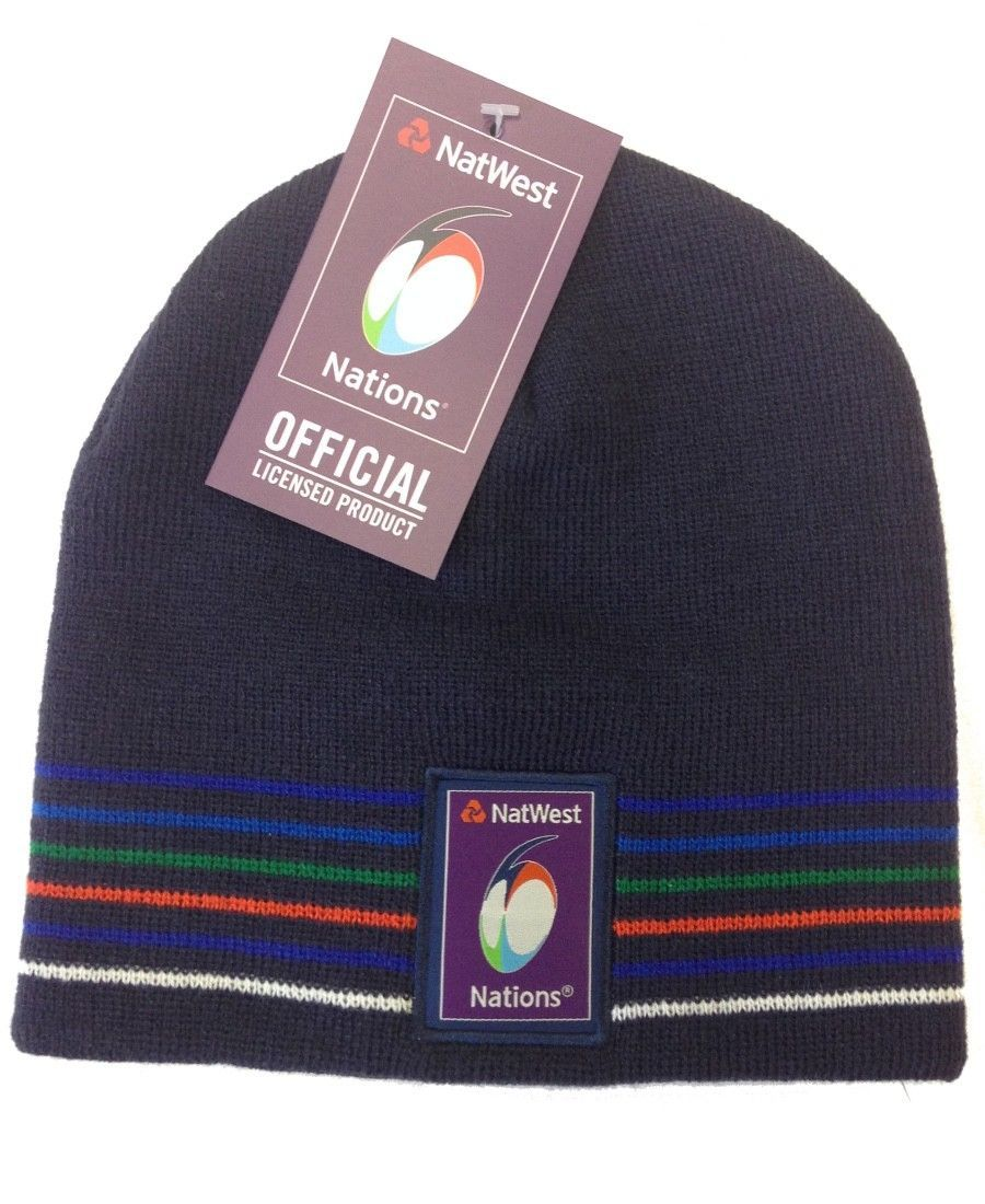 d821099efdc Natwest 6 Nations Rugby Classic Beanie Hat - Adult