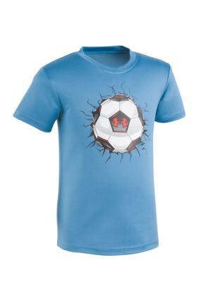 Under Armour Chicago Blue Soccer Smash Tee Boys 4-7