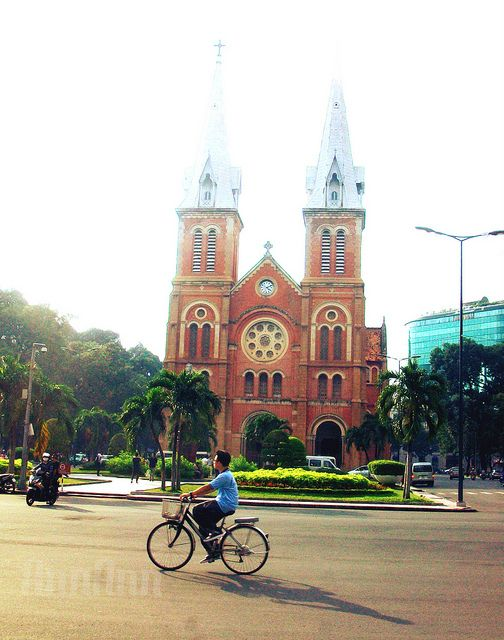 Saigon Notre-Dame Basilica by Thuy Duong Phan